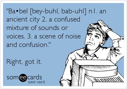 definition of Babel